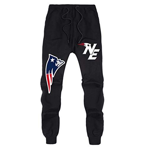 Meaeo Pants Frühling Und Herbst Sport Sweaterpants New England Champions Casual Sweaterpants New Lover Männer Casual Sweatpants-Black_1_XXL