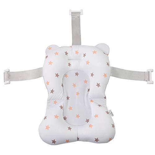 Bebé Bañera Almohada, Sunzit Recién Nacido Bebé Antideslizante Baño Cojín Recién Nacido Baño Apoyo Seguridad Cojín De Asiento para 0-8 Mes