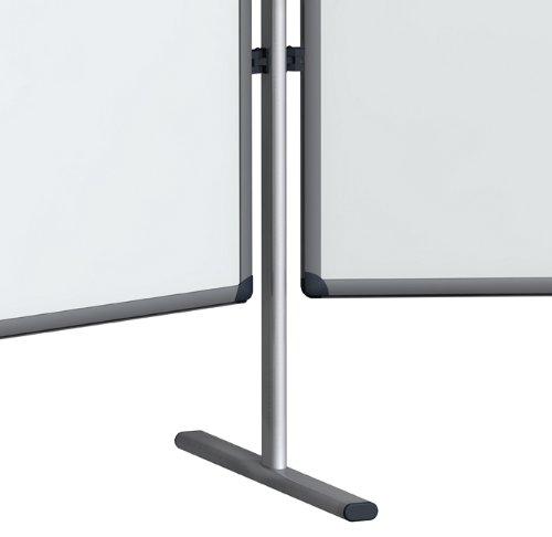 Franken SWS818 Einzelsäule für Stellwandsystem (Standardfuss 60 cm, Höhe 189 cm) lichtgrau