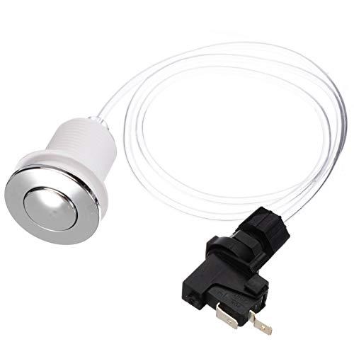 NO LOGO F-MINGNIAN-Tool, 1 Set 16A En el Push del Aire botón del Interruptor de Bath SPA Kit de tubería de Aire Botones Jet Set Herramienta de Accesorios de baño (tamaño : 125-250V)