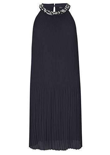 s.Oliver BLACK LABEL Damen 150.10.004.20.200.2012332 Kleid, Navy, 40