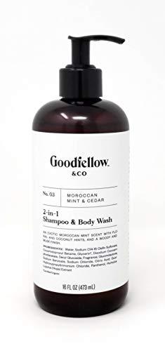 Goodfellow & Co - No. 03 Moroccan Mint & Cedar 2-in-1 Shampoo & Body Wash - Men's Scented Shampoo and Body Wash Helps You Look and Smell Your Best
