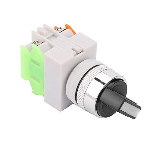 Perilla de dos pasos Selector de posición de manija corta estable Interruptor giratorio para controlar