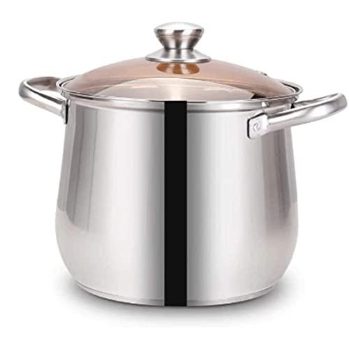 HHTD Pote de Sopa de Acero Inoxidable Espesado con gachas de Acero Inoxidable Adecuado para restaurantes Cocinas para Casas y Otros Lugares