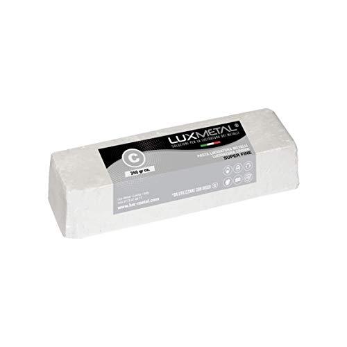 Pasta abrasiva Lux Metal blanca C Super Fine 350 gramos pulido para...