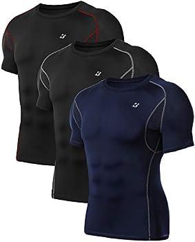 3-Pack Roadbox Under Base Layer Mens Sports Shirts