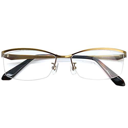 SHOWA 遠近両用メガネ アンティークテーパード (メンズセット) 全額返金保証 境目のない 遠近両用 眼鏡 老眼鏡 おしゃれ メンズ 男性 リーディンググラス(瞳孔間距離:66mm〜68mm, 近くを見る度数:+3.0)