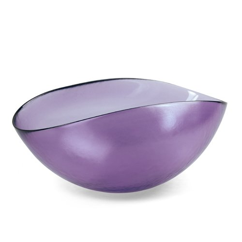 YALOS Murano Collection Happy Fruit Copa Ø mm 310 x 200 mm Cristal de Murano Made in Italy Color Violeta