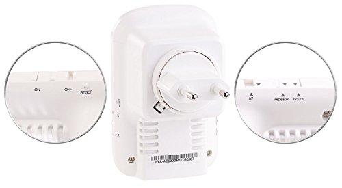 7links WiFi Verstärker: Dualband-WLAN-Repeater, Access Point & Router, 1.200 Mbit/s, WPS-Taste (WLAN Extender)