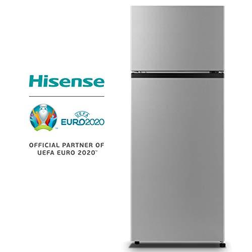 Hisense RT267D4AD1 Frigorifero Doppia Porta, 205 Litri, 40 Decibel, Silver
