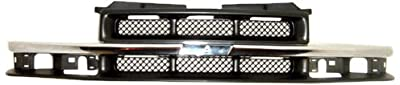 OE Replacement Chevrolet S10 Pickup/S10 Blazer Grille Assembly (Partslink Number GM1200419)