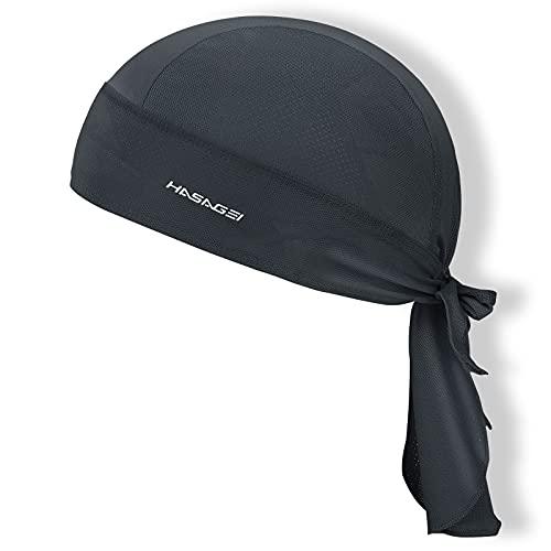 HASAGEI Sports Bandana Cap Durag Bandana Kopftuch Fahrrad Kopfbedeckung Atmungsaktiv nimmt Schweiß auf Hat