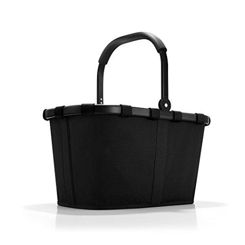 reisenthel carrybag frame black/black  Maße  48 x 29 x 28 cm/Volumen: 22 l