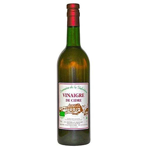 La galotière - Vinaigre de cidre bio non filtré non pasteurisé vieilli en fût de chêne 75cl - Produits-Normandie