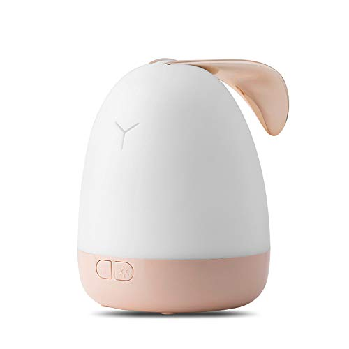 SEGIBUY aromatherapie etherische olie diffuser, USB Lazy Rabbit aromatherapie lamp etherische olie lamp slaapmiddel voor baby kinderen slaapkamer woonkamer