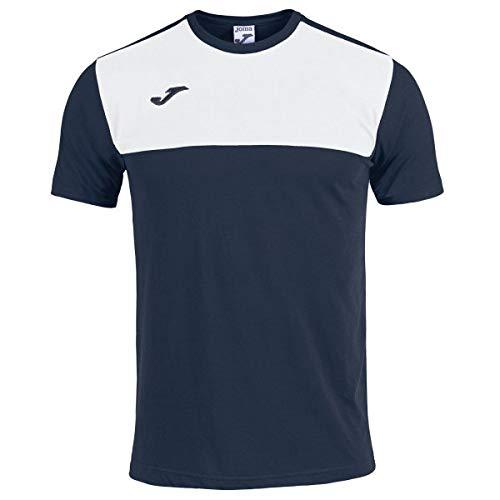 Joma Winner T-Shirt pour Homme S Marine/Blanc