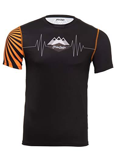 FreiSein MountainPulse Kurzarm Funktionsshirt für Herren