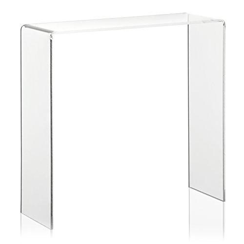 Warenträger als Dekoständer, Schuhdisplay aus original PLEXIGLAS (20.0 x 7.0 x 20.0 cm) Präsentationsständer, Verkaufs-Display aus Acrylglas