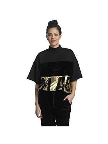 adidas T-Shirt – Sweat schwarz/golden Größe: 40 M (Medium)