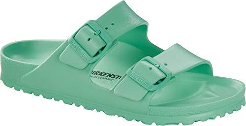 Birkenstock Unisex Arizona Essentials Bold Jade EVA Sandals 39 N EU