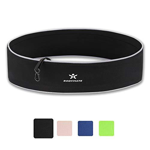 BODYMATE Cintura da Corsa Elastica portacellulare per Smartphone Fino a 6,5