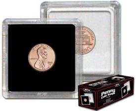 2×2 Coin Snap Holder Penny (19mm)Box of 100