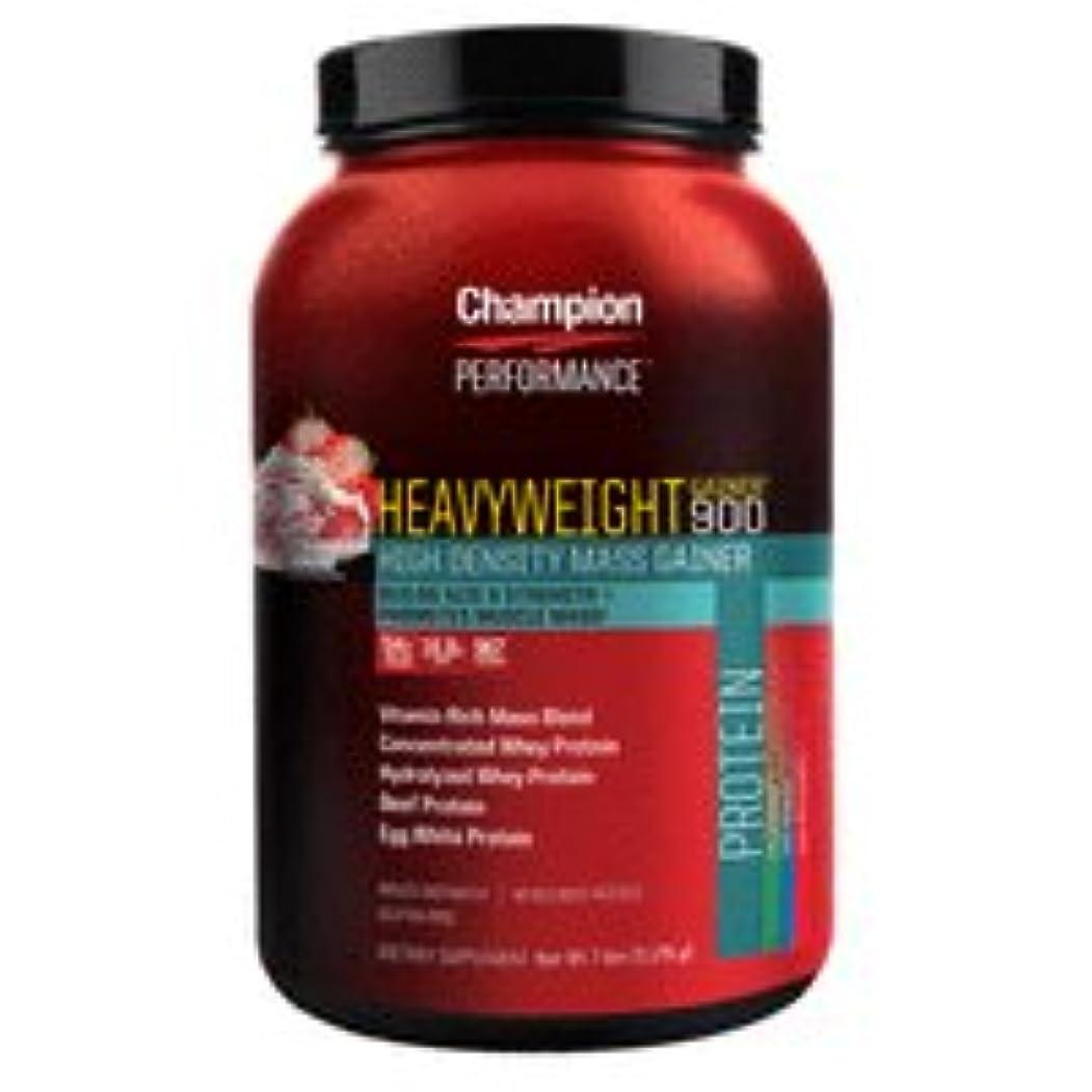 悪質な仮説クライマックスChampion Nutrition チャンピオンニュートリション ヘビーウエイトゲイナー900 3.17kg [海外直送品] (ストロベリーシェイク)
