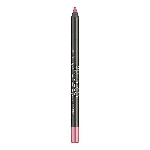Artdeco Soft Lip Liner Waterproof Matita Labbra 186 Shy Rose, 1.2 g