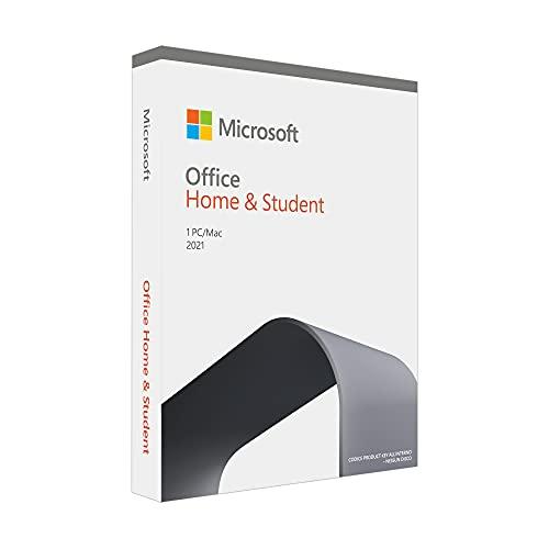 Office Home & Student 2021 | si installa su un solo dispositivo PC (Windows 10) o Mac | 1 licenza perpetua | Scatola