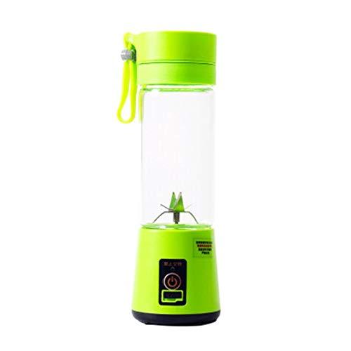LeftSuper Tragbare 4-Blatt-Saftbecherlinie Tragbare Mini-Entsafter Elektrische Entsafter-Tasse Entsafter Kleine wiederaufladbare Saftbecher