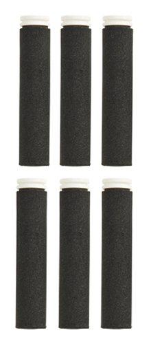 Camelbak Erwachsene Zubehör Trinkflasche Carbonfilter F Groove Satz A 6 Stück Kohlefilter 6-pk, Black, One Size