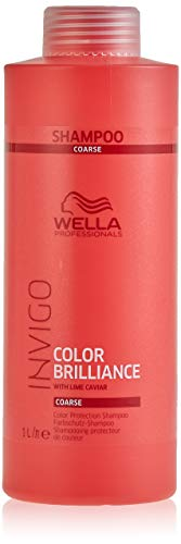 Wella Professionals Invigo Color Brilliance Color Protection Shampoo Coarse, 1000 ml