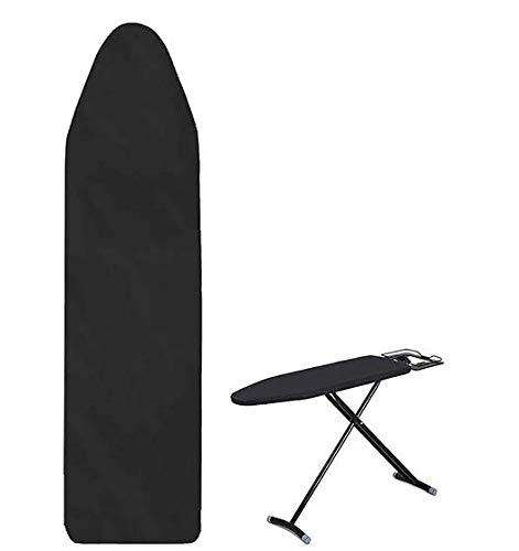 Bügelbrettbezug mit Gummiband, Bezug für Bügelbretter, Bügeltischbezug, Reflektion von Wärme und Dampf,geeignet für Dampfbügeleisen, Größe der Bügelbrettabdeckung 130 x 50 cm