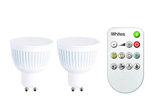 jedi lighting Leuchtmittel, GU10, 2 Stück