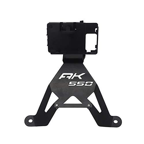 XUEFENG Universal Motorcycle GPS Plate Holder Phone Charging Holder Navigation Bracket for KYMCO AK550