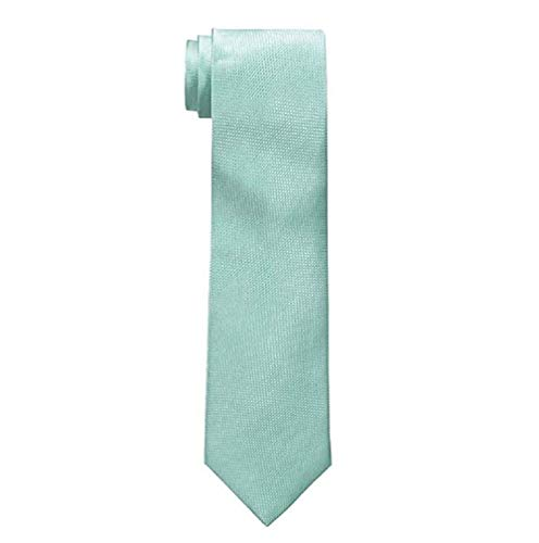 Nautica Corbata de seda sólida para hombre - verde - talla única