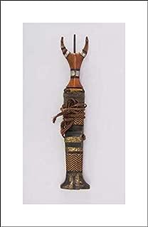 Philippine, Mandaya Culture - 12x20 Art Print by Museum Prints - Dagger with Sheath