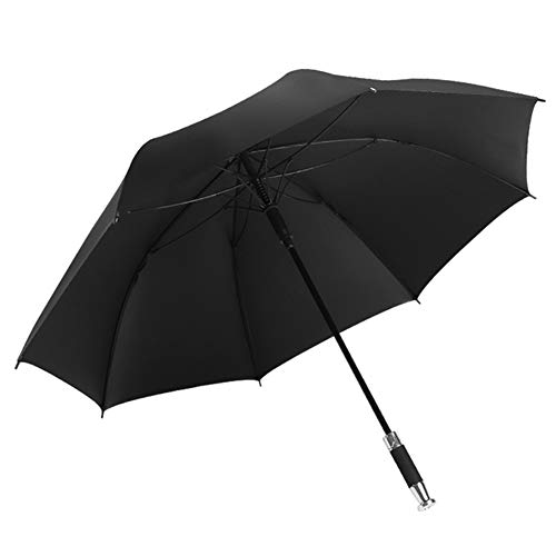 WZP-Umbrella Windproof Travel Umbrella Auto Open/Close – Oversize Double Canopy Windproof Waterproof Large Stick Umbrellas Protects Against Rain, Wind