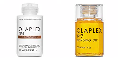 Olaplex Nr. 6 Bond Smoother 100ml + Olaplex No.7 Bonding Oil 30ml
