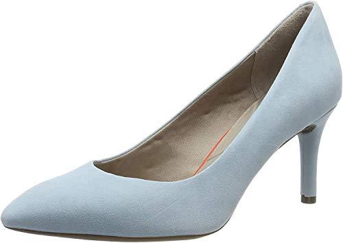 Rockport Zapatos de tacón con punta cerrada para Mujer, Azul