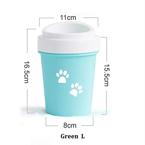 Poot van de hond Cleaner Huisdier van de kat Foot Wasmachine Cup zachte borstel Dog Foot Cleaner Poot van de hond Cleaning Pet Vuile Voeten Washer Pet Cleaner supplies