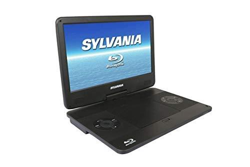 Portable Blu-Ray, DVD, CD, USB, SD Multi Media Player High Resolution HD (Renewed)