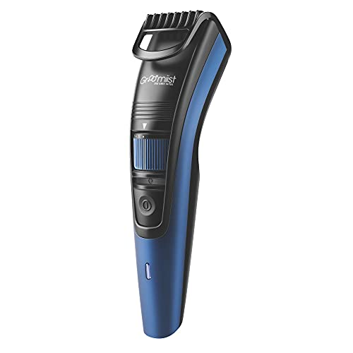 Groomiist Copper Series Corded/Cordless Beard Trimmer CS-555 with 90 Minutes Running Time & 20 Length Settings (Blue Matte Finish & Black Shinny Finish)