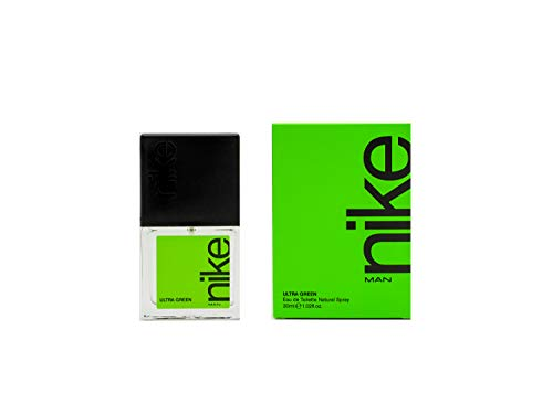 Nike Ultra Green, Eau de Toilette para Hombre, 30 ml