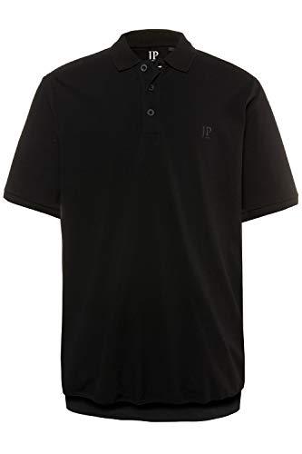 JP 1880 Herren große Größen bis 8XL, T-Shirt, Poloshir, JP1880-Brustdruck, Bauchshirt, Piqué, schwarz 5XL 712617 10-5XL