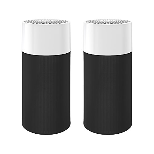 Price comparison product image Blueair Blue Pure 411 Air Purifier (2 pack) 3 Stage with Two Washable Pre-Filters,  Particle,  Carbon Filter,  Captures Allergens,  Viruses,  Odors,  Smoke,  Mold,  Dust,  Germs,  Pets,  Smokers,  Small Room