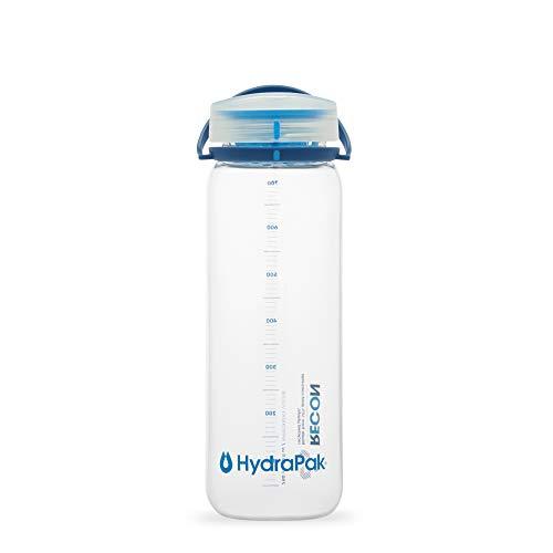 Hydrapak Recon 750ml, Flasche ohne BPA, hergestellt aus 50{3b57cc02823137999772fa613dfe9d291727eadc05f5d90b3f8220ff62bda9d6} recyceltem Tritan, Drehverschluss mit Smooth Flow Technologie