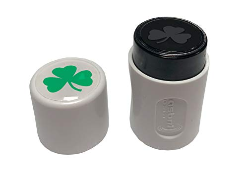 Asbri Golf Shamrock Ball-Stempel, grün