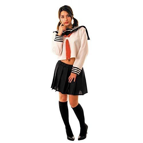 Party Pro- Déguisement d'écolière japonaise, Womens, 86532, M/L
