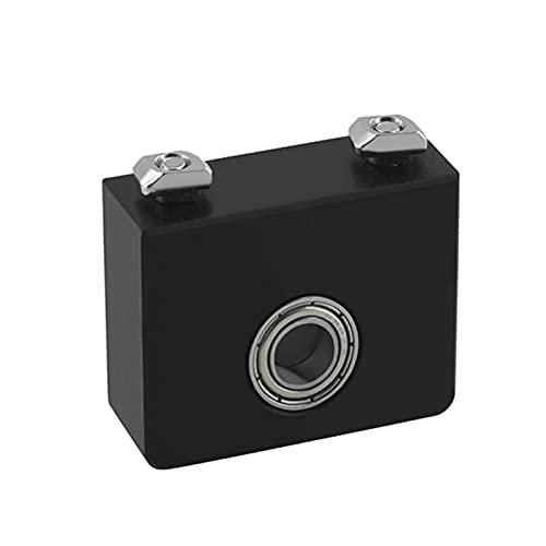 XIAOFANG Impresora 3D Actualización Aluminio Plástico Z-Axis Plazo Top Monte Fit for CR-10/CR-10S,Ender 3 /Ender 3pro Metal Z-Rod Cojinete Holder (Color : Aluminum)